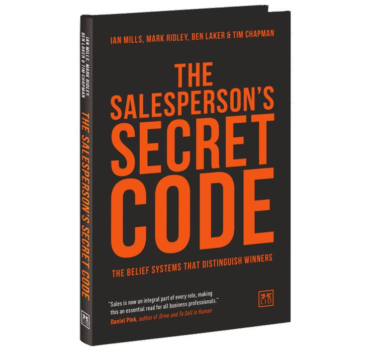The Salesperson's secret code - The Book